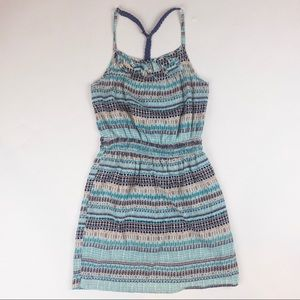 Racer back summer dress with pockets  XS